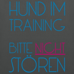Training Hund - Stoffbeutel