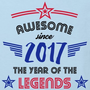 Awesome since 2017 Baby Bodys - Kinder Bio-T-Shirt
