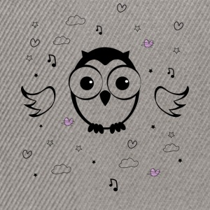 Hibou Tee shirts - Casquette snapback
