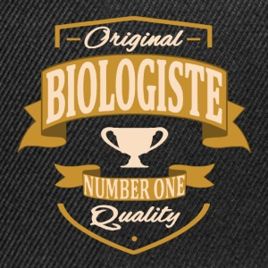 Biologiste Tee shirts - Casquette snapback