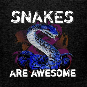 Snakes are awesome  - Men's Premium Tank Top