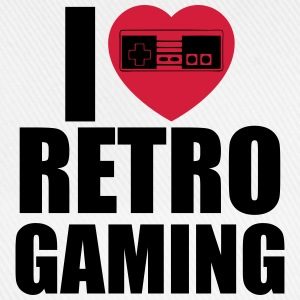 I love retro gaming  - Basebollkeps