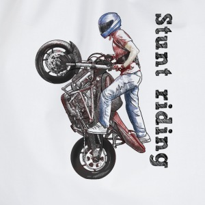 Stunt riding Tee shirts - Sac de sport léger