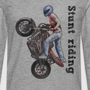 Stunt riding Shirts - Men's Premium Longsleeve Shirt