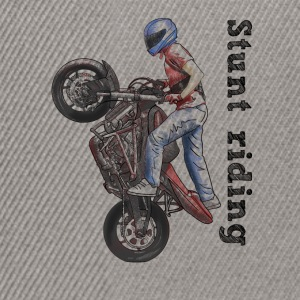 Stunt riding T-shirts - Snapback cap