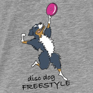 disc dog freestyle Sweat-shirts - T-shirt Premium Homme