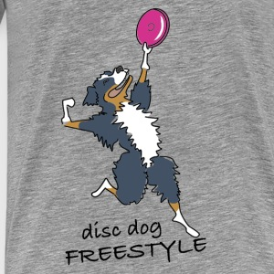 disc dog freestyle Sweaters - Mannen Premium T-shirt
