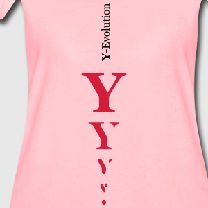 Y girl evolution - Frauen Premium T-Shirt