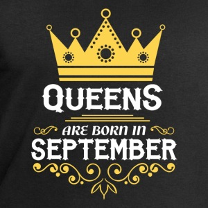 Queens are born in September Long Sleeve Shirts - Men's Sweatshirt by Stanley & Stella