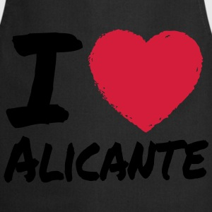 I Love Alicante Camisetas - Delantal de cocina