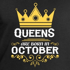 Queens are born in October Long Sleeve Shirts - Men's Sweatshirt by Stanley & Stella