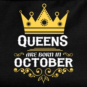 Queens are born in October Long Sleeve Shirts - Kids' Backpack