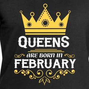 Queens are born in February Shirts - Men's Sweatshirt by Stanley & Stella