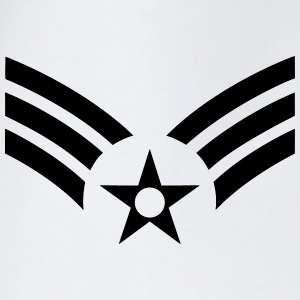 Senior Airman SrA, US Air Force, Mision Militar ™ Magliette - Sacca sportiva