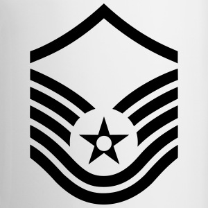 Master Sergeant MSgt, US Air Force, Mision Militar Magliette - Tazza