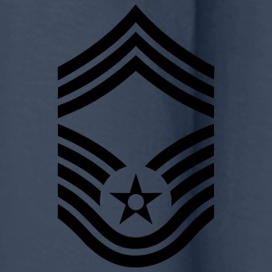Chief Master Sergeant CMSgt, US Air Force Camisetas - Camiseta de manga larga premium hombre