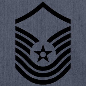 Senior Master Sergeant SMSgt, US Air Force Magliette - Borsa in materiale riciclato