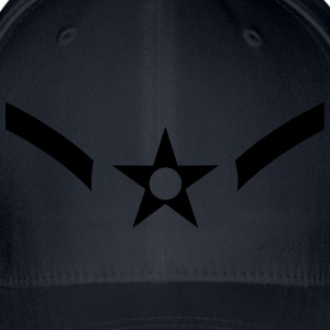 Airman Amn, US Air Force, Mision Militar ™ Magliette - Cappello con visiera Flexfit