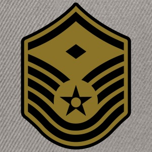 Master Sergeant MSgt First Sergeant, Air Force T-Shirts - Snapback Cap