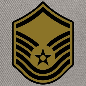 Master Sergeant MSgt, Air Force, Mision Militar ™ T-Shirts - Snapback Cap