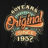 60 Years Original since 1957 - RAHMENLOS Birthday Shirt Design Pullover & Hoodies - Männer Pullover