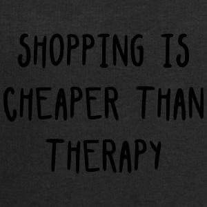 Shopping is cheaper than therapy Sacs et sacs à dos - Sweat-shirt Homme Stanley & Stella