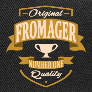 Fromager Tee shirts - Casquette snapback