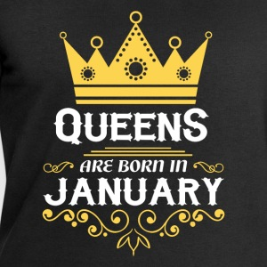 Queens are born in January Shirts - Men's Sweatshirt by Stanley & Stella