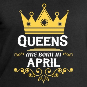 Queens are born in April Long sleeve shirts - Men's Sweatshirt by Stanley & Stella