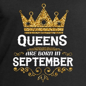 Queens are born in September Baby Long Sleeve Shirts - Men's Sweatshirt by Stanley & Stella