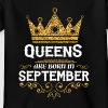 Queens are born in September Shirts - Kids' T-Shirt
