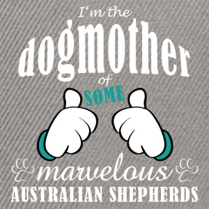 Dogmother, some Aussies T-Shirts - Snapback Cap