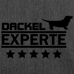 dackel experte T-Shirts - Schultertasche aus Recycling-Material