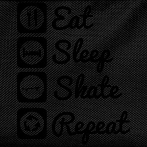 Eat,sleep,skate,repeat , skateboard t-shirt - Kinder Rucksack