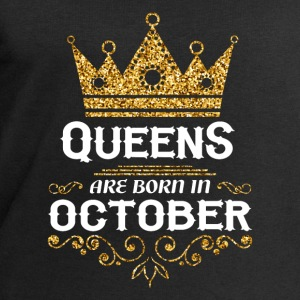 Queens are born in October Baby Long Sleeve Shirts - Men's Sweatshirt by Stanley & Stella