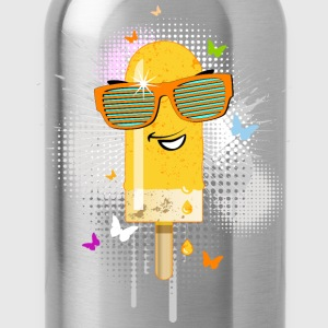 Eis am Stiel ice lolly ice cream Sommer popsicle - Trinkflasche