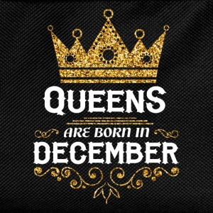 Queens are born in December T-Shirts - Kids' Backpack