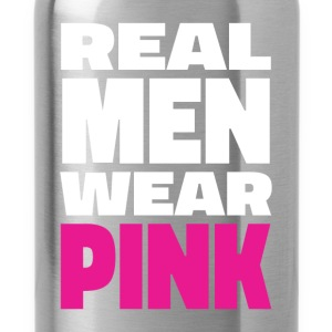 Real men wear pink - Water Bottle