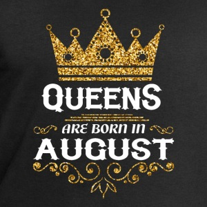 Queens are born in August Long Sleeve Shirts - Men's Sweatshirt by Stanley & Stella