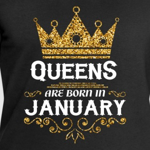Queens are born in January T-Shirts - Men's Sweatshirt by Stanley & Stella
