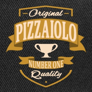 Pizzaiolo Tee shirts - Casquette snapback