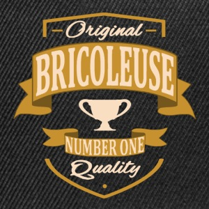 Bricoleuse Tee shirts - Casquette snapback