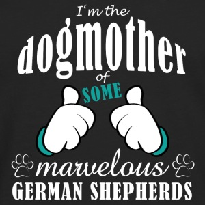 Dogmother some German Shepherds Tassen & rugzakken - Mannen Premium shirt met lange mouwen