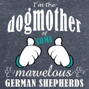 Dogmother some German Shepherds Tassen & rugzakken - Mannen sweatshirt van Stanley & Stella