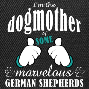 Dogmother some German Shepherds Sacs et sacs à dos - Casquette snapback