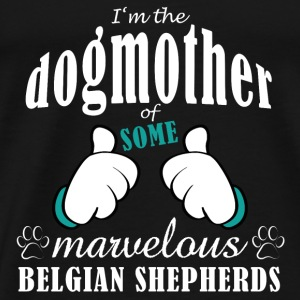 Dogmother some Belgian Tops - Mannen Premium T-shirt
