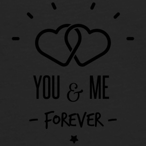 you & me forever Bags & Backpacks - Men's Premium Longsleeve Shirt