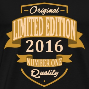 Limited Edition 2016 - T-shirt Premium Homme