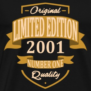 Limited Edition 2001 - T-shirt Premium Homme
