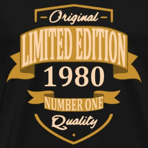 Limited Edition 1980 - T-shirt Premium Homme